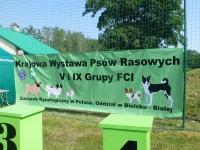 Krajowa Wystawa Psów Rasowych V i IX Grupy FCI - Kobiór 2017
